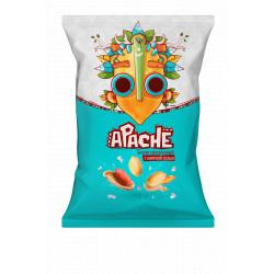 Apache - Cacahuètes au sel de mer - 80g - Pack de 15