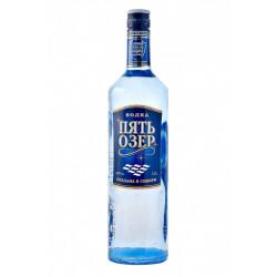 Vodka Pyat Ozer Premium (Пять Озер Премиум) 1l - Pack de 6