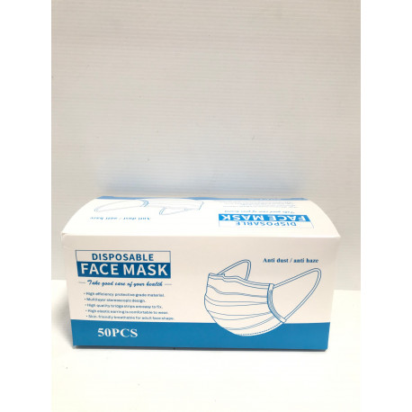 Masque facial jetable - Pack de 50
