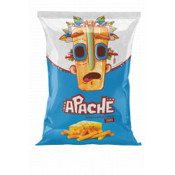 Apache - Chips (Frite) saveur fromage  - 40g - Pack de 15