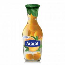 JUS D'ABRICOT COMPOTE - ARARAT  1L - PACK DE 6