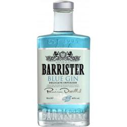 GIN BARRISTER BLUE 40%VOL  0.7L - PACK DE 6