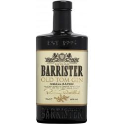 GIN BARRISTER OLD TOM 40%VOL  0.7L - PACK DE 6