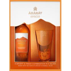 ARARAT BRANDY ABRICOT 0.7L +UN VERRE - PACK DE 6