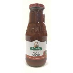 """""""ROYAL"""" Sauce piquante pour plats de viande 350g - PACK DE 24"""