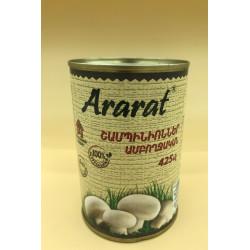 Champignons entiers- Ararat 425gr - Pack de 12