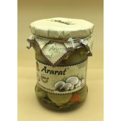 Champignons entiers mariné - Ararat 440gr - Pack de 12
