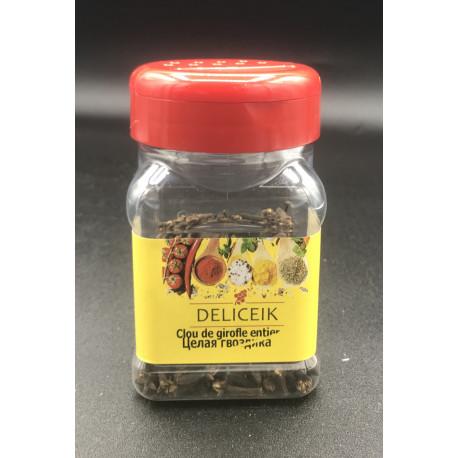 DELICEIK N°32 Clou de Girofle entier - Pot plastique 50 gr - Pack de 20