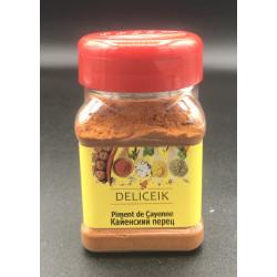 DELICEIK N°32 Piment de Cayenne - Pot plastique 100 gr - Pack de 20