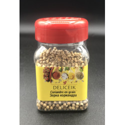 DELICEIK N°37 Coriandre en grain - Pot plastique 60 gr - Pack de 20