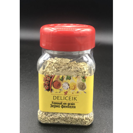 DELICEIK N°38 Fenouil en grain - Pot plastique 80 gr - Pack de 20