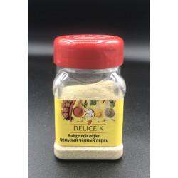 DELICEIK N°2 Poivre blanc moulu - Pot plastique 100 gr - Pack de 20