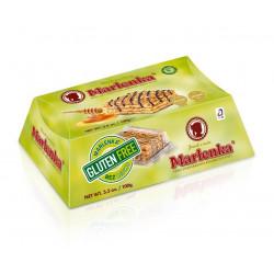 Gâteau au miel sans gluten MARLENKA® aux noix 100g - Pack de 6