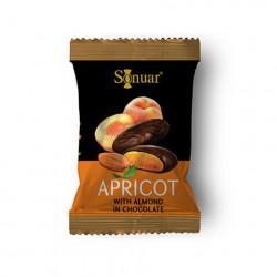 Fruits secs au chocolat N°44 - Sonuar Apricot 5kg - Pack de 1