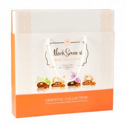 Fruits secs au chocolat N°49 - Mark Sevouni Orientale 100g - Pack de 6