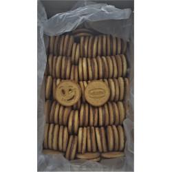 """Daroink N°2 - Sandwich aux biscuits """"Happy"""" fourré au chocolat  3kg - Pack de 1"""
