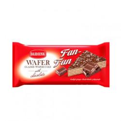 Daroink N°11 - Gâteau gaufre fourré au chocolat ''Fan Fan'' '230g - Pack de 26