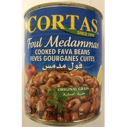 FOUL MEDAMMAS 850G-CORTAS - PACK DE 12