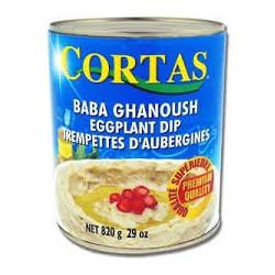 BABA GHANOUSH-CORTAS 820G - PACK DE 12