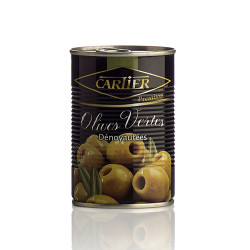 OLIVES VERTES DENOYAUTEE-CARTIER 4250ML - PACK DE 3