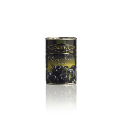OLIVES NOIRES ENTIERES-CARTIER 850ML - PACK DE 12
