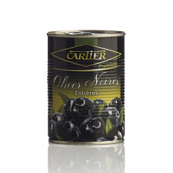 OLIVES NOIRES ENTIERES-CARTIER 4250ML - PACK DE 3