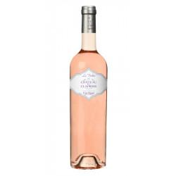 Château de la Clapiére-cuvée La Violette-Côtes de Provence-Rosé  75cl - pack de 6