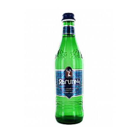 Eau Minérale Gazeuse Jermuk 0.5L bouteille en verre  - Pack de 20