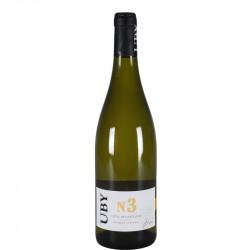 Uby N°3 2018 - Côtes de Gascogne blanc 075l - Pack de 6