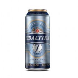 BIERE BALTIKA N°7 CANETTE 0.90L PACK DE 12