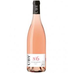 Uby N°6 - Côtes de Gascogne rose 075l - Pack de 6