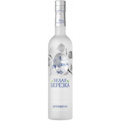 "Vodka ""Belaya Berezka"" 0.5 L - Pack de 12"