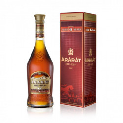 ARARAT BRANDY 6 ANS BOUTEILLE 0.5L - PACK DE 12