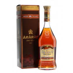 ARARAT BRANDY 6 ANS BOUTEILLE 0.7L - PACK DE 12