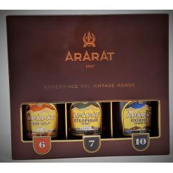 COFFRET BRANDY ARARAT 15CL