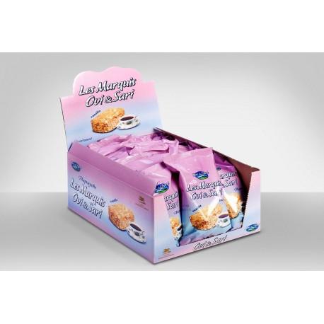 Gâteau au Vanille - Les Marquis  90gr - Pack de 1