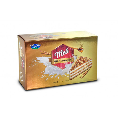 Gâteau au miel à la crème de lait - Milkiss 500gr - Pack de 6